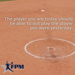 Copy of The player you are today should be able to out play the player you were yesterday