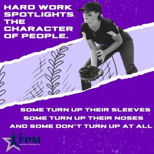 Copy of Hard work spotlights the character of people
