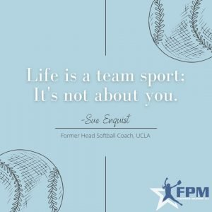 Copy of Life is a team sport; It's not about you