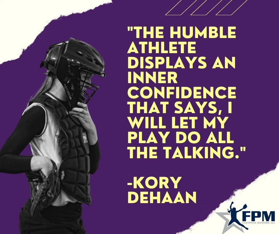 The Humble Athlete Displays an Inner Confidence